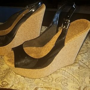 Used wedge shoes very light